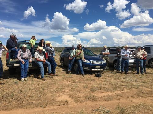 Commissioner Brown listened to farmers and ranchers from Southwest Colorado as the Drought Tour makes a stop in Hesperus