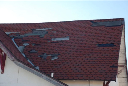 St John Church_old Roof _saguache Today