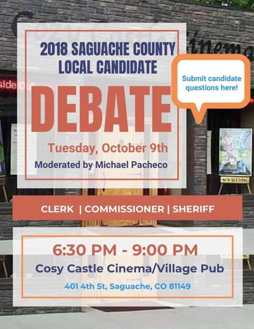 Saguache Debate