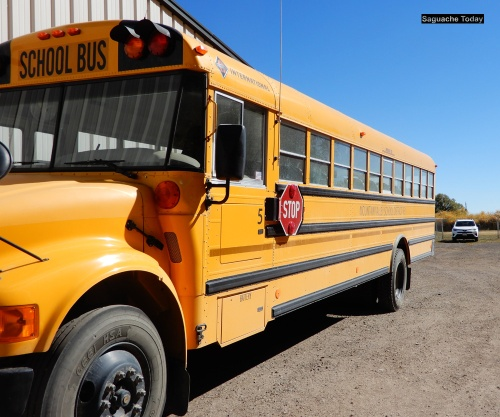 Saguache School Bus