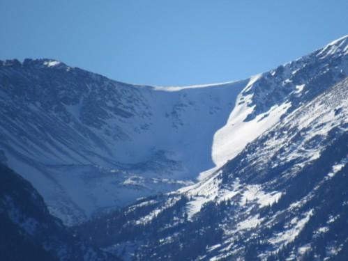 Avalanche Sangre de cristos Saguache Today CAIC