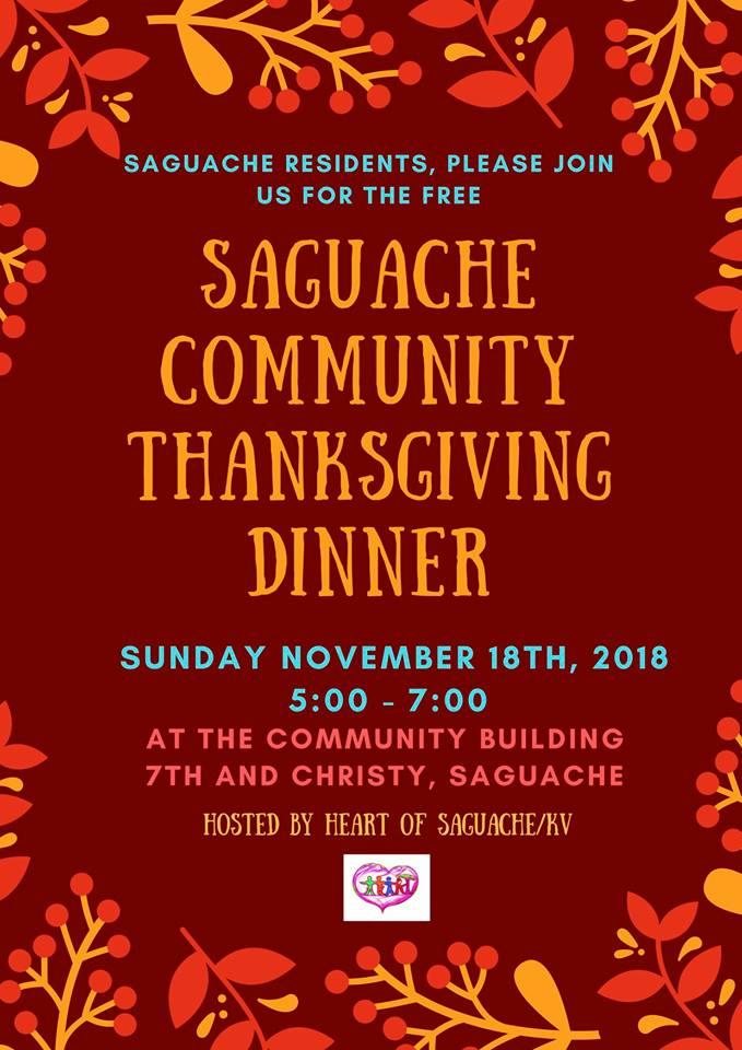 Sag Thanksgiving